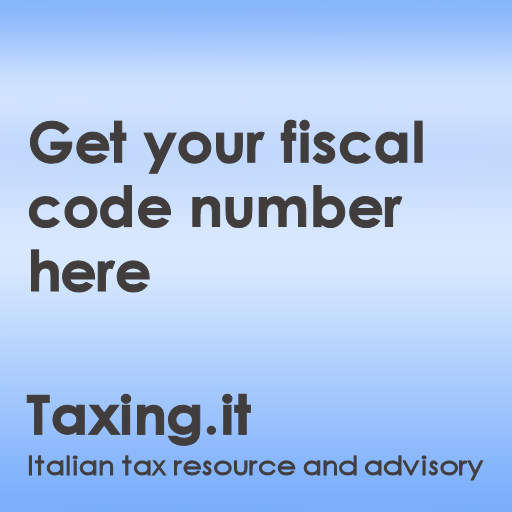 The Italian Fiscal Code Number | Italian Tax