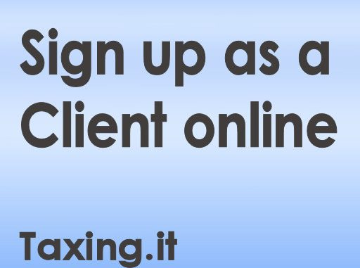 Client Sign Up Widget